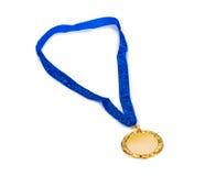 Złoty medal fotografia stock