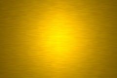 złoty metalowa płytka Fotografia Stock