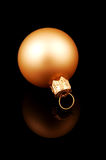 złoty ornament Zdjęcia Royalty Free