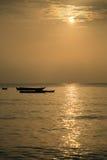złoty oszałamiającą wschód słońca obrazy stock