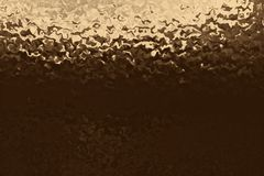 Złoty półkowy tło i błyszczący złocisty materiał, aliażu żelazo ilustracja wektor