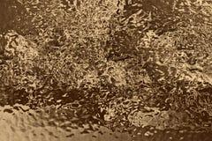 Złoty półkowy tło i błyszczący złocisty materiał, powierzchnia royalty ilustracja