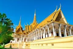 złoty pałac Zdjęcia Royalty Free