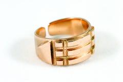 złoty pierścionek Zdjęcia Stock