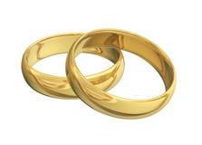 złoty pierścionek ilustracji