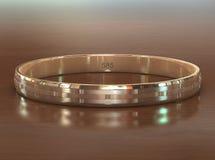 złoty pierścionek Obrazy Stock