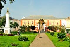 Złoty pierścionek Rosja. (Ipatiev) 'dom pałac, sala Romanov bojary' w Ipatievsky monasterze w Kostroma '(,)' zdjęcia stock