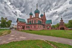 Złoty pierścionek Rosja miasto Yaroslavl obraz royalty free