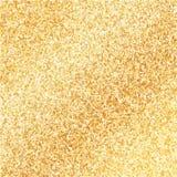 Złoty połysk błyskotliwości tło ilustracja wektor