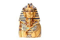 złoty posąg króla Fotografia Royalty Free