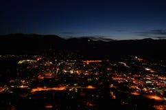 Złoty przy nocą, Kolorado Zdjęcie Royalty Free