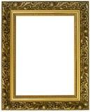 złoty ramowy poziome fotografia stock