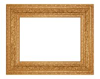 złoty ramowy zdjęcie zdjęcia royalty free