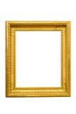 złoty ramowy zdjęcie Zdjęcie Royalty Free