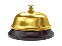 Złoty recepcyjny bel Obrazy Royalty Free