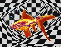 złoty ryb ilustracji