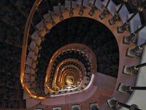 złoty schody zdjęcie royalty free