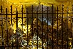 złoty skarb w kopalni złota Fotografia Royalty Free