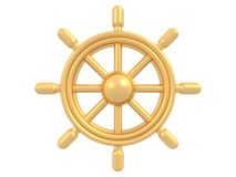 złoty steru ilustracji