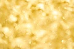 złoty tła światło Zdjęcie Stock