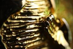 złoty tła abstrakcyjne Obraz Royalty Free