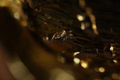 złoty tła abstrakcyjne Obrazy Stock