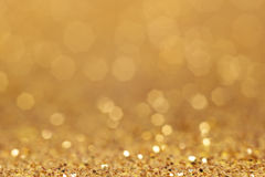 złoty tła abstrakcyjne Fotografia Stock