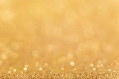 złoty tła abstrakcyjne Obrazy Royalty Free