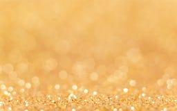 złoty tła abstrakcyjne Zdjęcie Stock