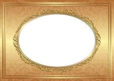 Złoty tło Obraz Royalty Free