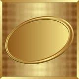 złoty tło Obrazy Royalty Free