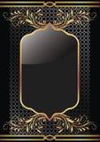 złoty tło ornament royalty ilustracja