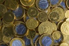 złoty tło pieniądze Zdjęcie Royalty Free