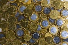 złoty tło pieniądze Obrazy Royalty Free
