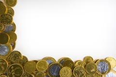 złoty tło pieniądze Zdjęcie Stock