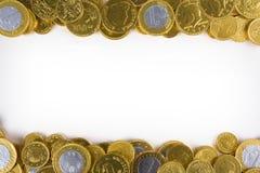 złoty tło pieniądze Fotografia Stock