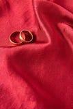 złoty target1649_1_ pierścionków Zdjęcia Royalty Free