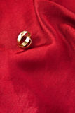 złoty target1953_1_ pierścionków Zdjęcia Royalty Free
