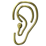 złoty uszy Zdjęcia Stock
