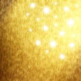 Złoty wakacyjny tło Obrazy Stock