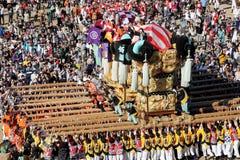 Złoty wielki świątyni festiva fotografia royalty free