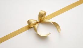 złoty wstążki zdjęcie stock