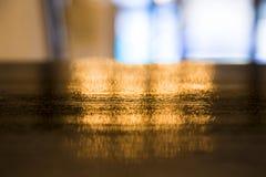 Złoty zamazany tło fotografia royalty free