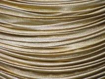 złoty zasłony Zdjęcie Royalty Free