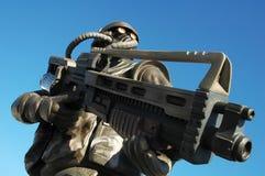 zły żołnierz Zdjęcie Royalty Free