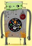 zły duży robot ilustracja wektor