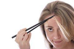 zły dzień włosy Obraz Royalty Free