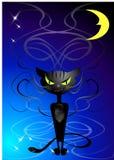 zły kot cipkę uśmiech Obraz Royalty Free