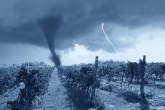 zły przybywająca pogoda Zdjęcie Stock