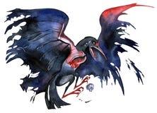 Zły ptak ilustracji